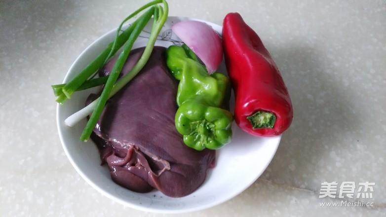 辣椒炒猪肝的做法大全