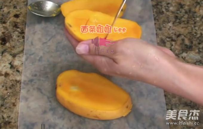 芒果鲜奶杯的家常做法