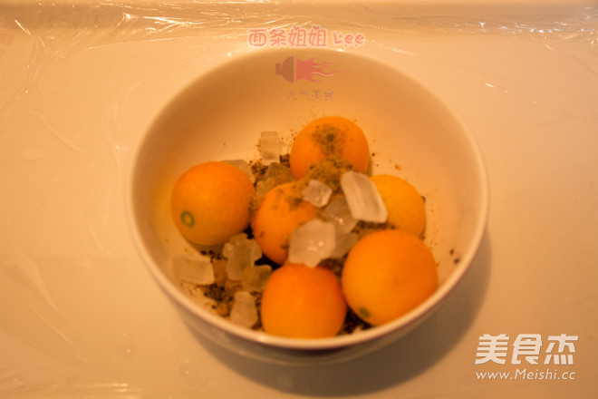 预防感冒的糖渍金桔的做法图解