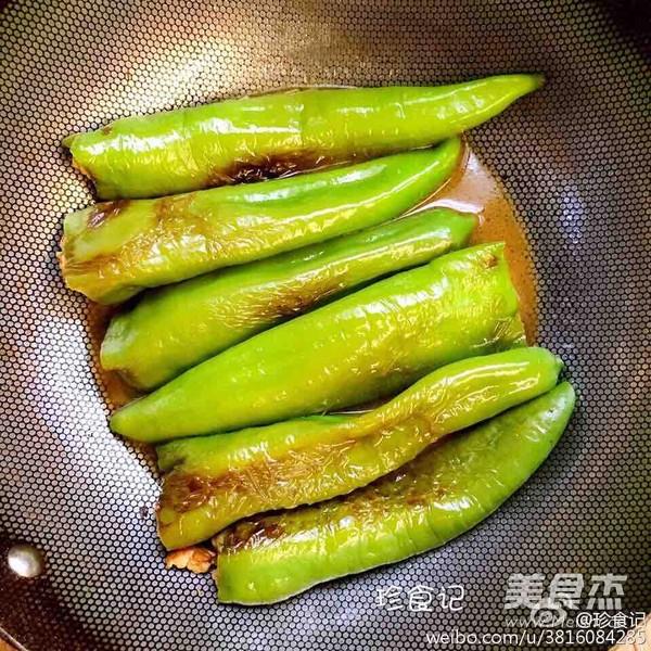 尖椒酿肉怎么吃
