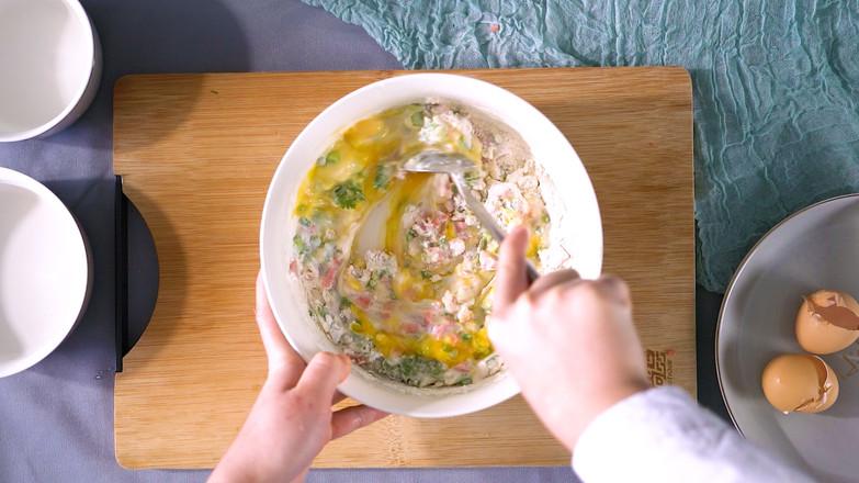 营养早餐饼的做法图解