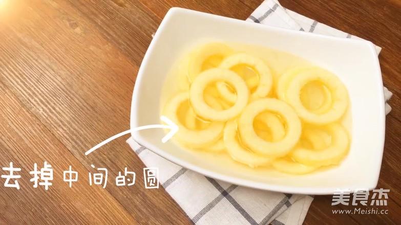 「膳小姐   苹果甜甜圈」的做法图解
