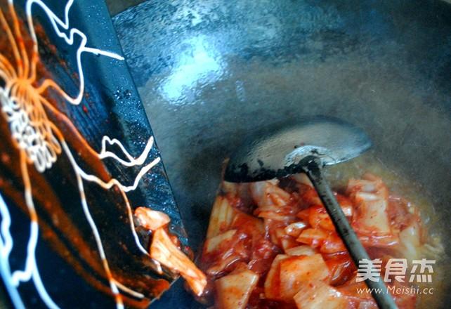 泡菜炒饭的简单做法