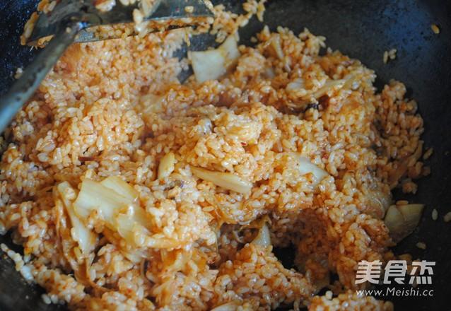 泡菜炒饭怎么做