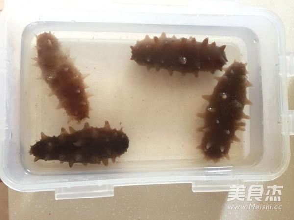 海参蒸蛋怎么吃