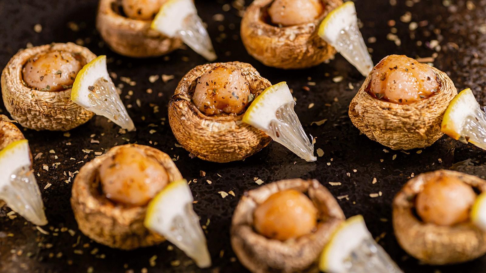虾滑烤蘑菇&酱汤虾滑面的做法大全