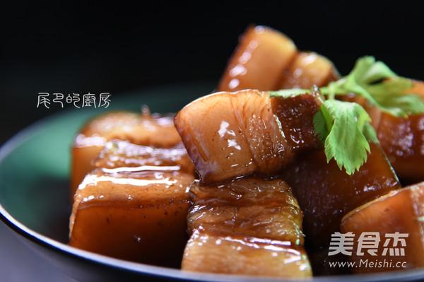 苏式红烧肉成品图