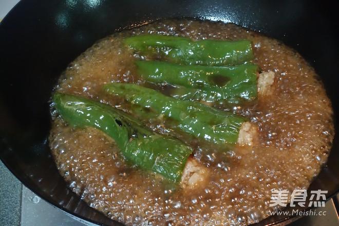 虎皮青椒酿肉怎么做