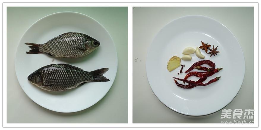 香酥鲫鱼的做法大全