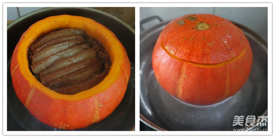 金瓜粉蒸肉的简单做法