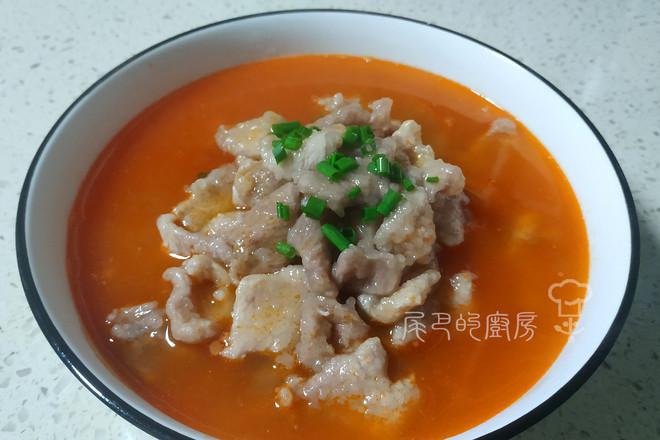 番茄滑肉汤怎么做