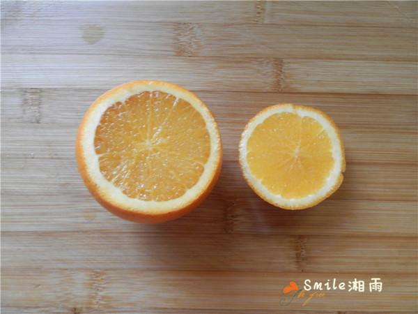 国橙蒸枸杞蛋的做法图解