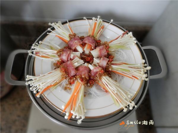 花开富贵香肠菇的步骤