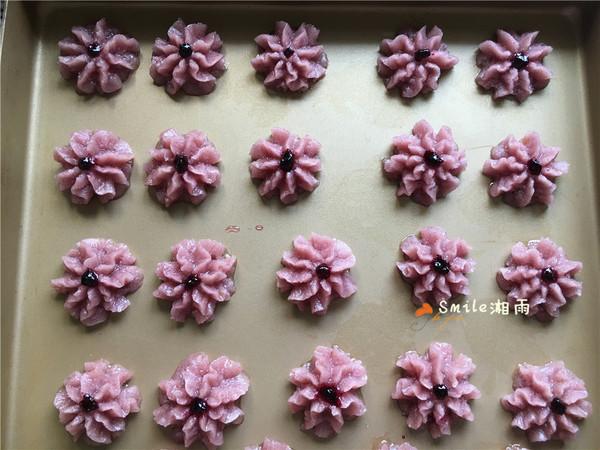 紫色花朵曲奇怎么炖