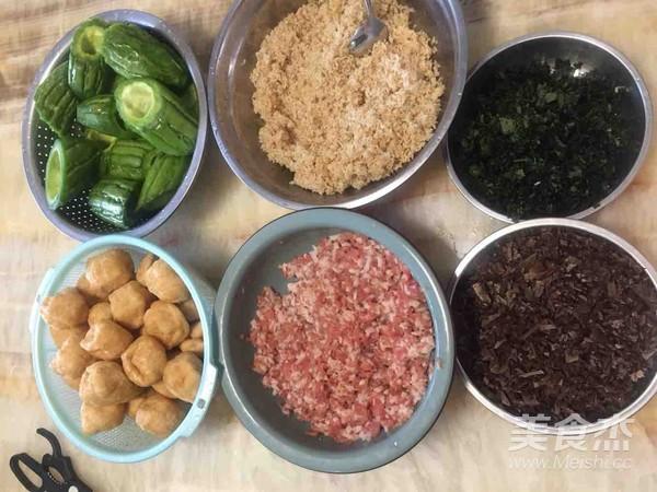 豆腐酿+苦瓜酿的做法大全