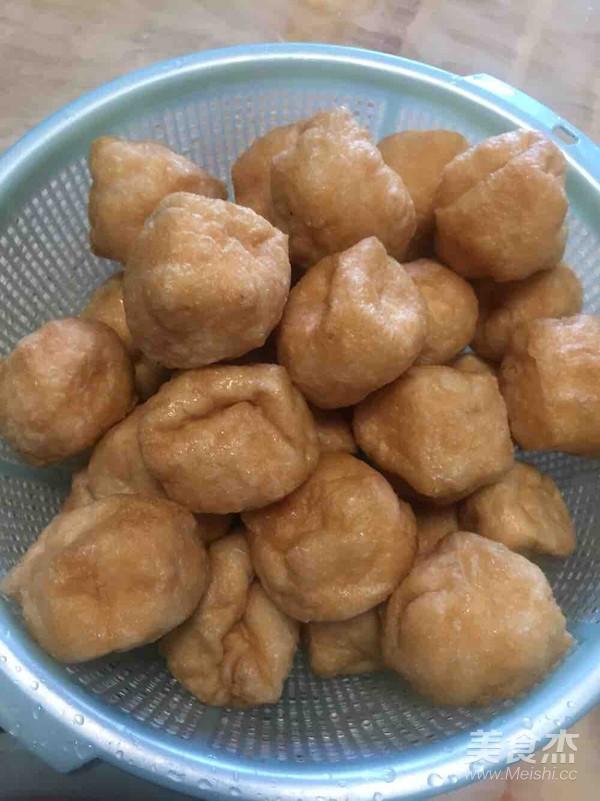 豆腐酿+苦瓜酿怎么炒
