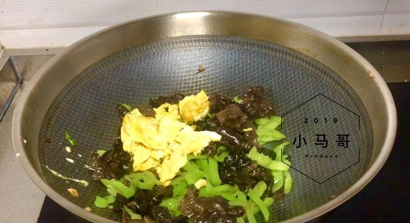 青椒木耳炒蛋#家常菜怎么煮