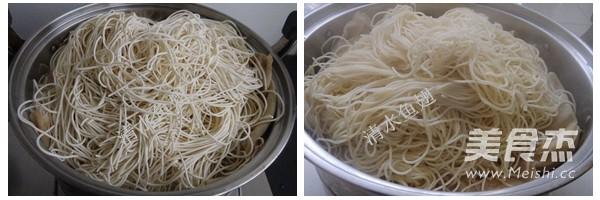 香菇肉丝炒面的做法大全