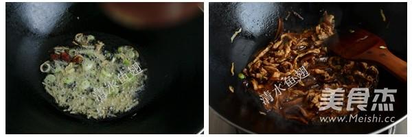 香菇肉丝炒面的家常做法