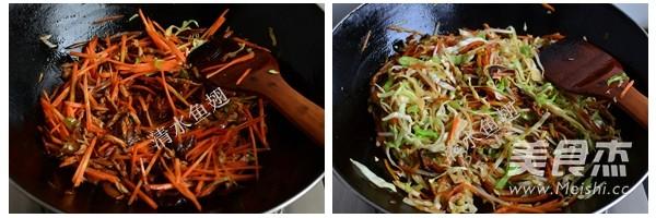 香菇肉丝炒面的简单做法