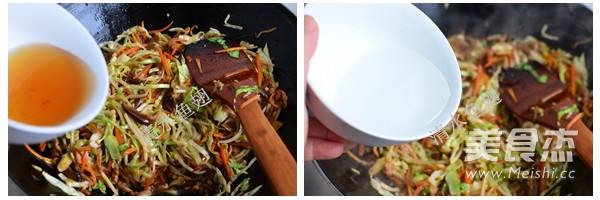 香菇肉丝炒面怎么吃