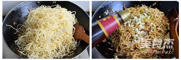 香菇肉丝炒面怎么做