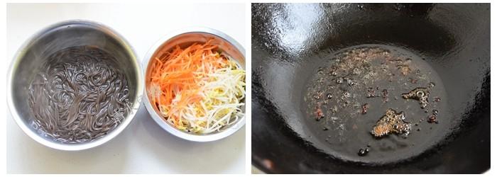 爽口凉拌蕨根粉的做法图解