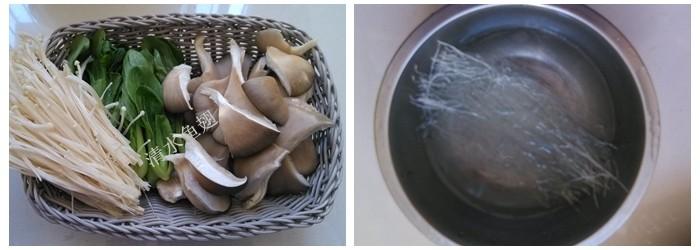 粉丝排骨砂锅的家常做法