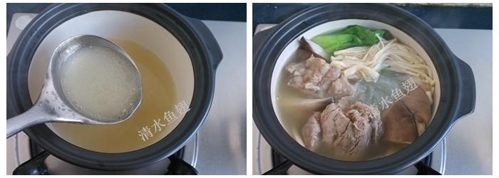 粉丝排骨砂锅的简单做法