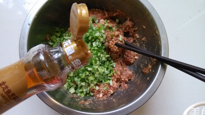 皮糯麦香的烫面蒸饺的简单做法