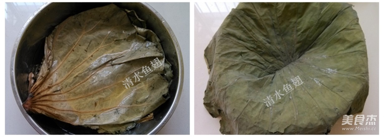 荷香鸡翅糯米饭的简单做法