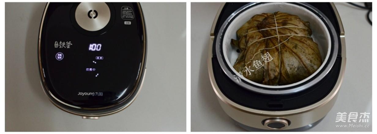 荷香鸡翅糯米饭怎么做