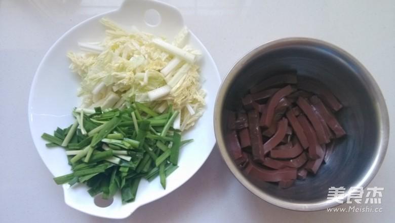 大白菜炒血豆腐的做法图解