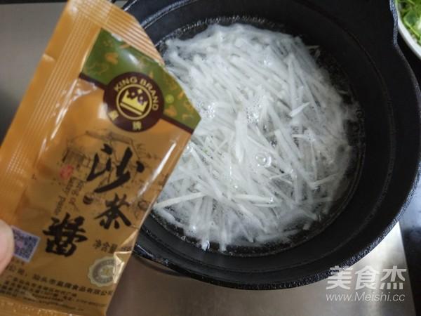 萝卜牛肉丸子汤的简单做法