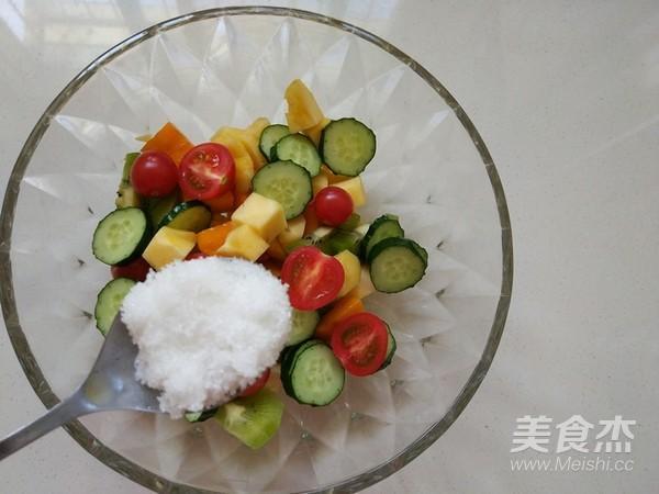 酸奶果蔬沙拉怎么煸
