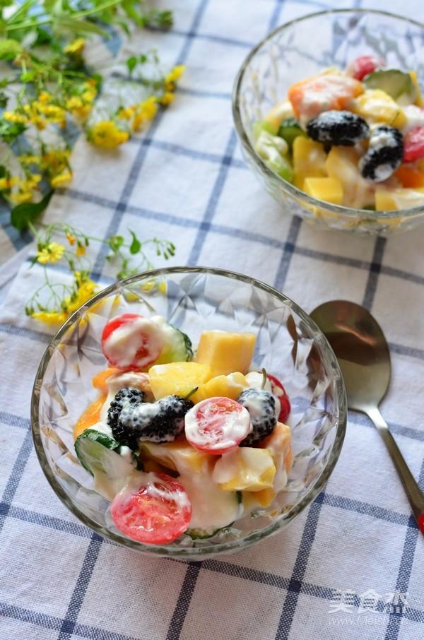 酸奶果蔬沙拉怎样做