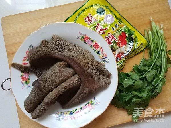香菜拌羊肚的做法图解