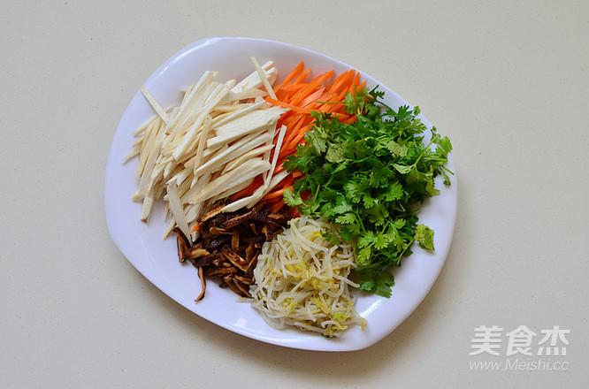 香菜腐皮卷的家常做法