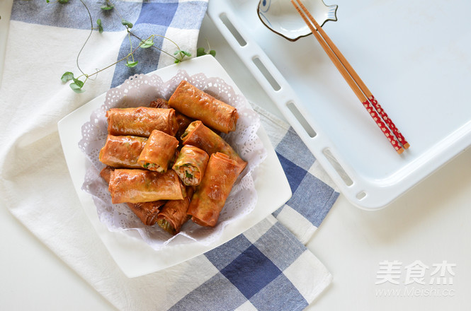 香菜腐皮卷怎样煮