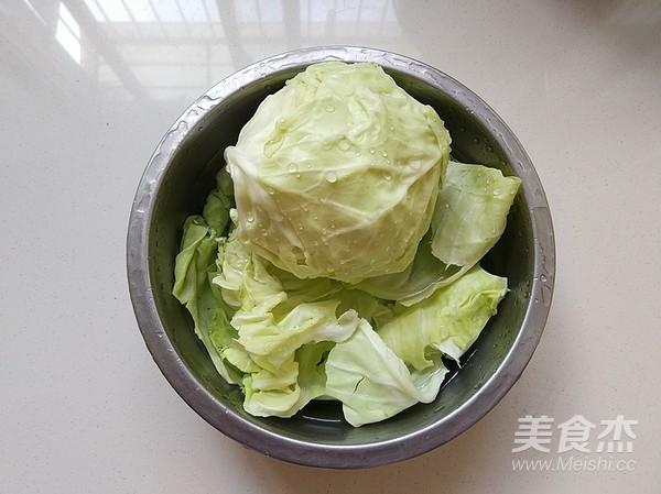肉末粉丝圆白菜的做法大全