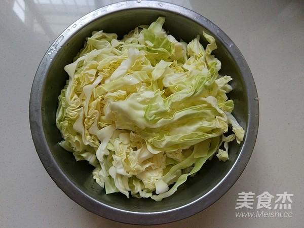 肉末粉丝圆白菜的做法图解