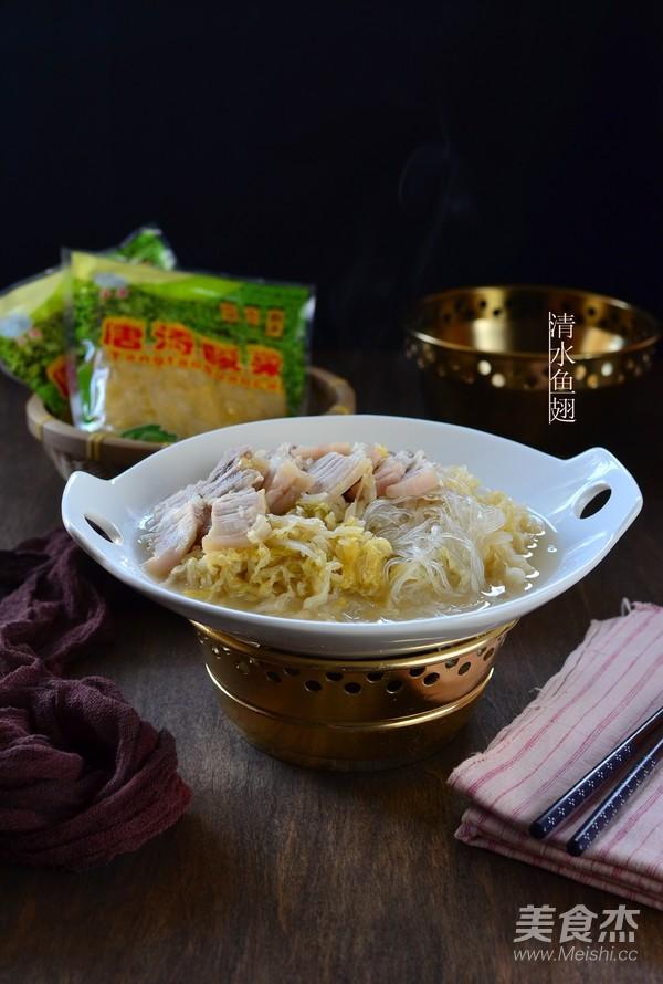 酸菜炖白肉怎样煸