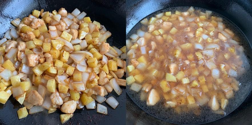 咖喱土豆鸡块怎么炒