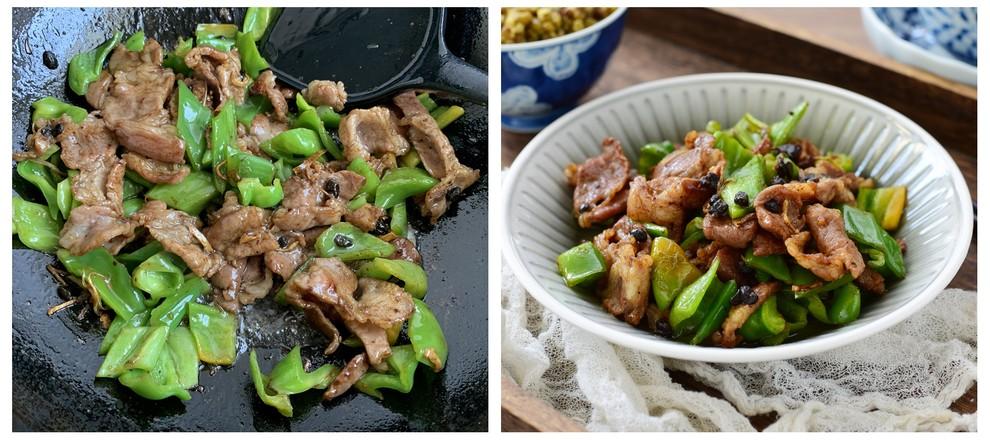 豆豉青椒炒肉片怎么吃