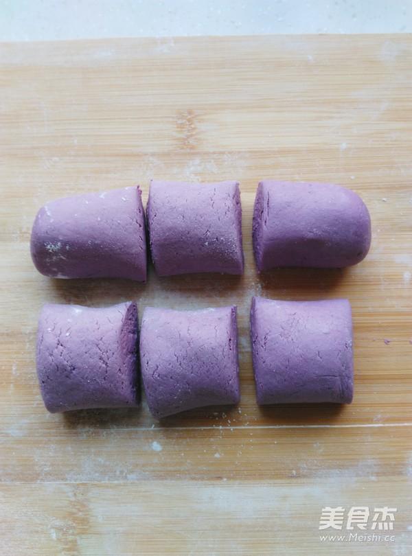 豆沙紫薯糯米饼怎么吃