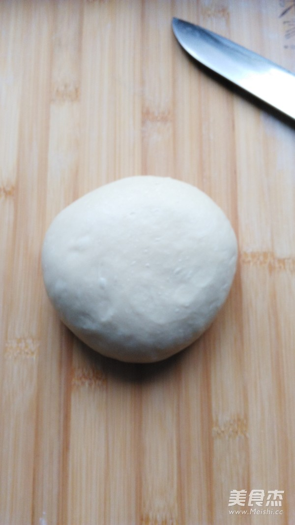山核桃炼乳面包的做法图解