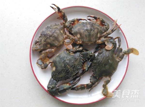 盐焗蟹甲红的做法大全