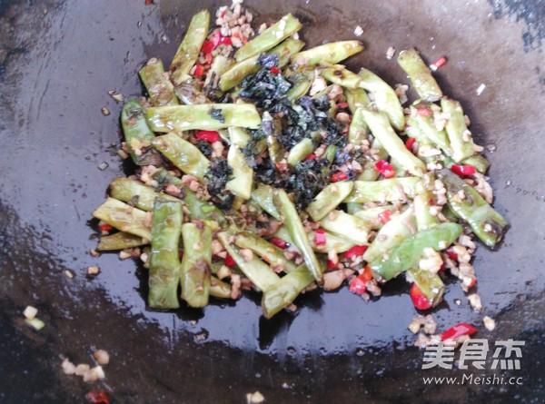 紫苏炒四季豆怎样煸
