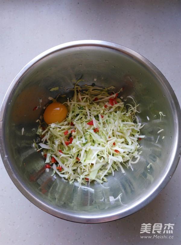 卷心菜烘蛋的家常做法