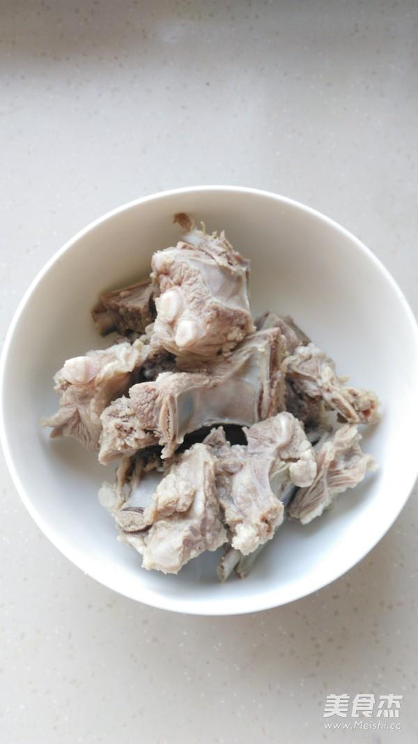 萝卜羊排汤的做法图解